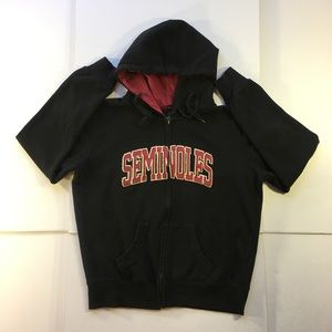 Florida State Seminole Full Zip Sweatshirt Jacket